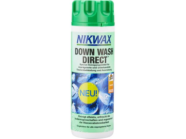 Nikwax Down Wash Direct 300 ml grøn/farverig (2019) | Personlig pleje